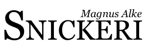 Magnus Alke Snickeri