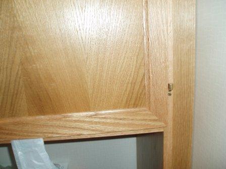 badrumsinredning högskåp lucka